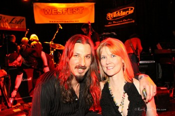 Bryan Beller & Stacey Ferguson - Co-Producers of WesFest