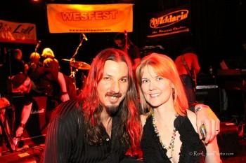 Bryan Beller & Stacey Ferguson - Co-Producers of WesFest