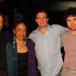 John & Paula w/Berklee alums Ben Thompson & Justin Schornstein (2009 Scholarship recipient)
