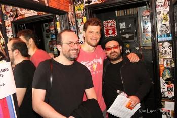 Joe Travers, Ben Thomas, Rick Musallam (Ron Lyon)