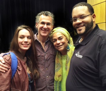 Maddie J, D Mo, Berklee trustee and Wes' Aunt Sara Lawrence Lightfoot and her son Martin...