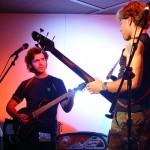 Wes & Dweezil playing at NAMM (2005)