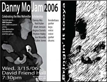 Danny Mo Jam 2006 Poster