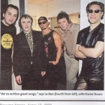 Duran Duran's clip in Rolling Stone