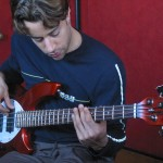 "Playing in Griff Peters' ""Red Room"""