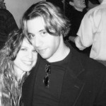 Wes & Ali Handal post-gig in NYC (2002)