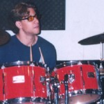 Wes at the Drums